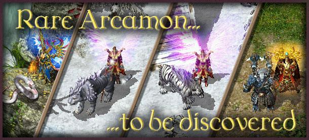 Rare Arcamon